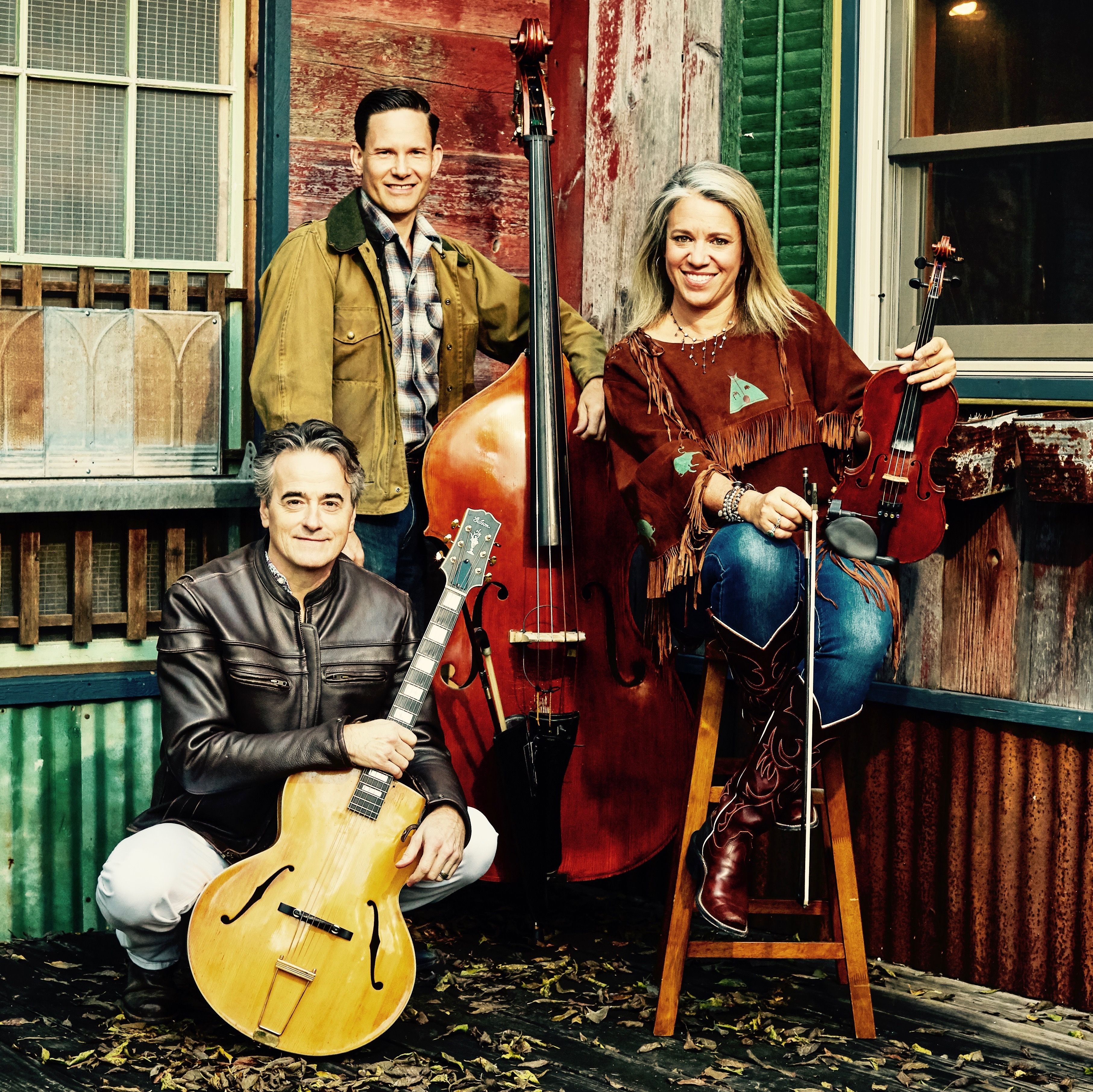 Hot Club of Cowtown playing Armadillo Christmas Bazaar at noon December 15th