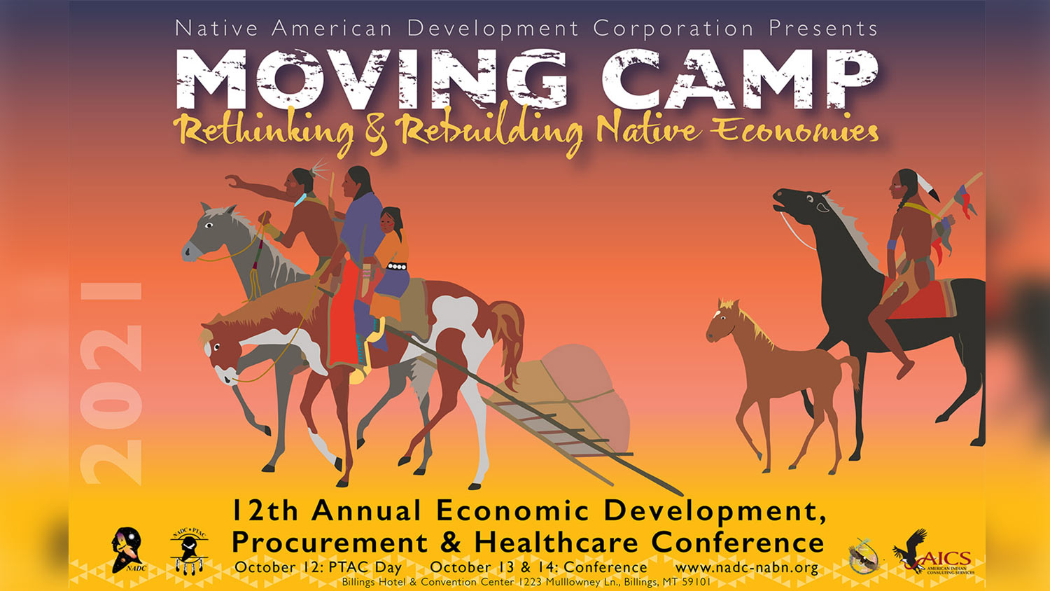 Moving Camp: Rethinking & Rebuilding Native Economies - Conference Poster