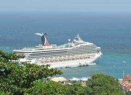 Ocho Rios - Ship at Port