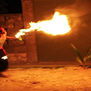 Fire Eating Show