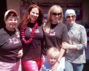 Survivors, their daughters, & a grandson