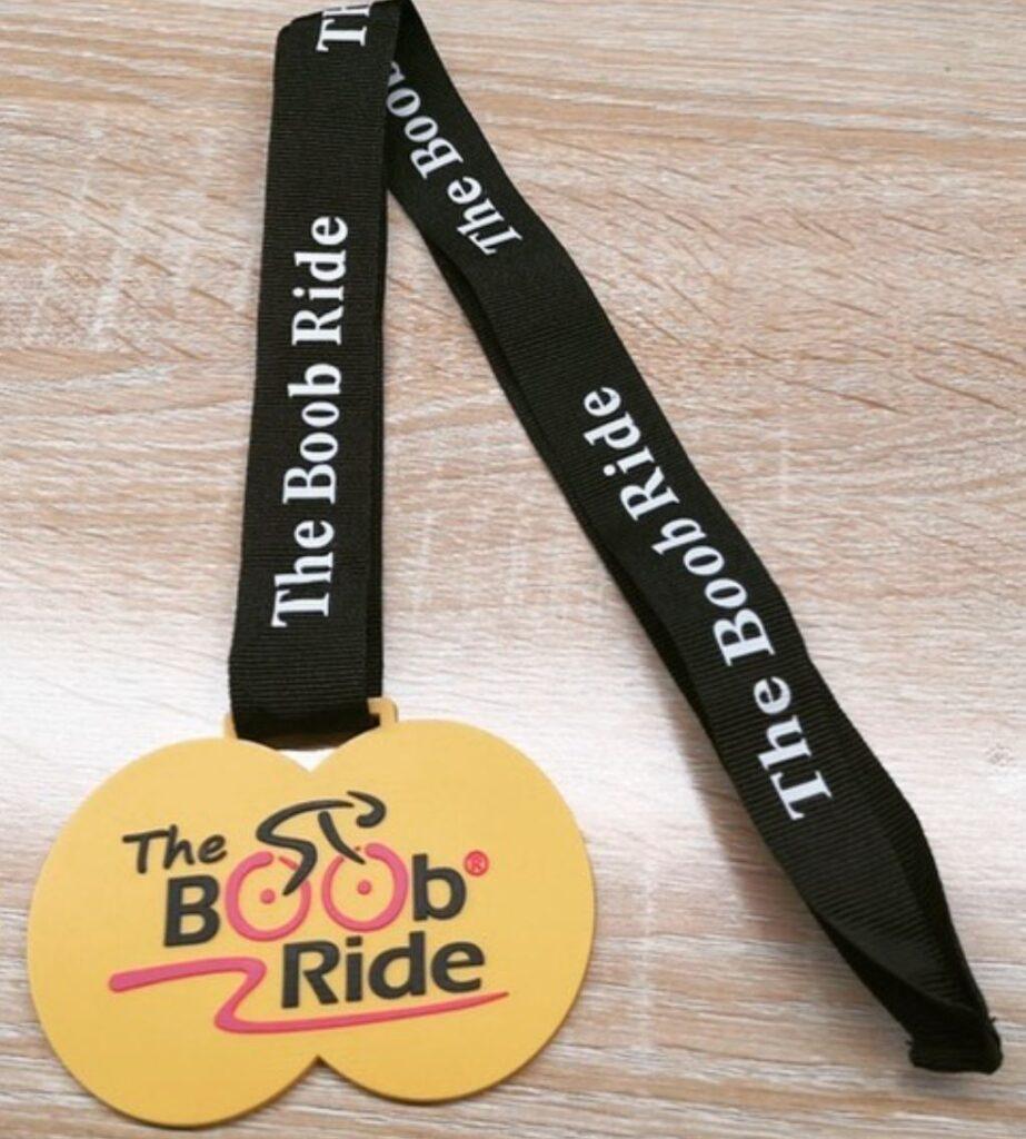 Boob Ride Medal