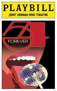 54 Forever playbill
