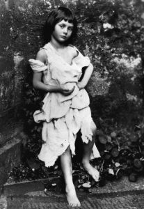 Lewis Carroll's 1858 photograph of Alice Liddell