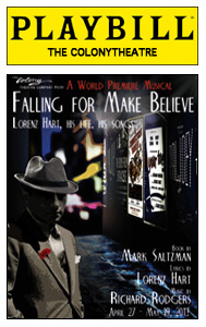 falling for make believe playbill