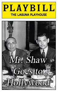 Mr Shaw Goes to Hollywood playbill