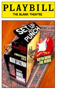 Set Up and Punch playbill