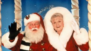 Mrs. Santa Claus with Santa