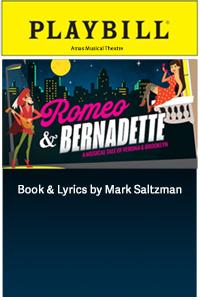 Romeo & Bernadette playbill