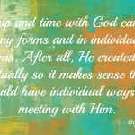 worship, time with God
