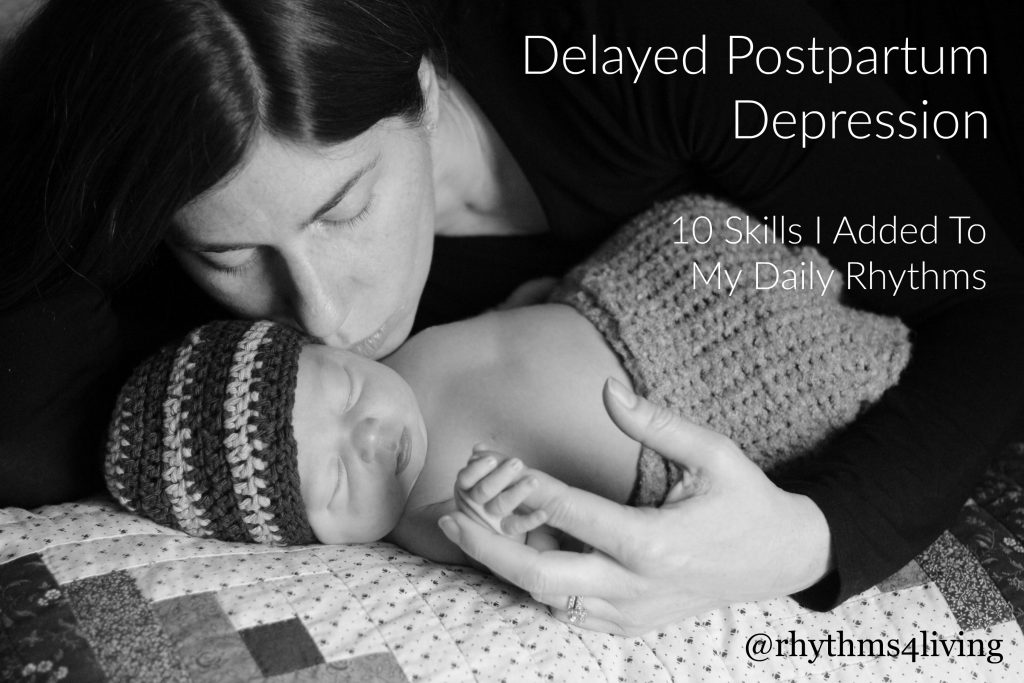 Delayed Postpartum Depression coping skills