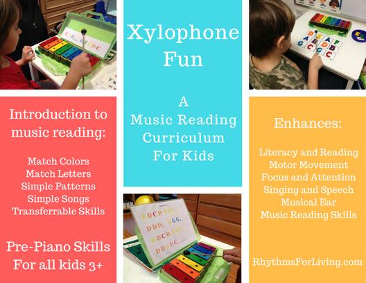 Xylophone Fun Curriculum for kids