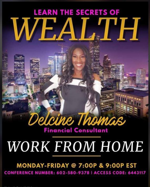 NEW DELCINE WEATH WORK FROM HOME