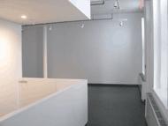 Desk in gallery