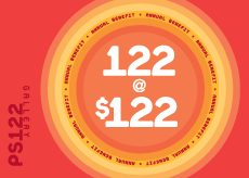 122 at $122 Benefit Invitation