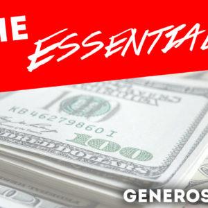The Essentials – Generostiy