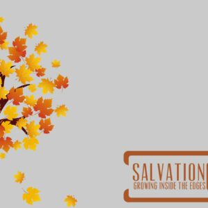 Salvation: Growing inside the edges