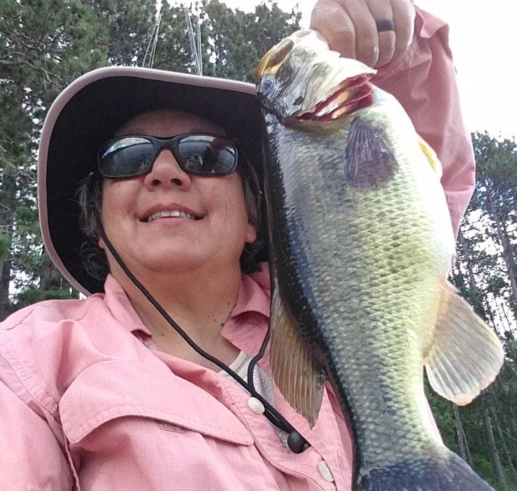 Diane Kayak Fishing