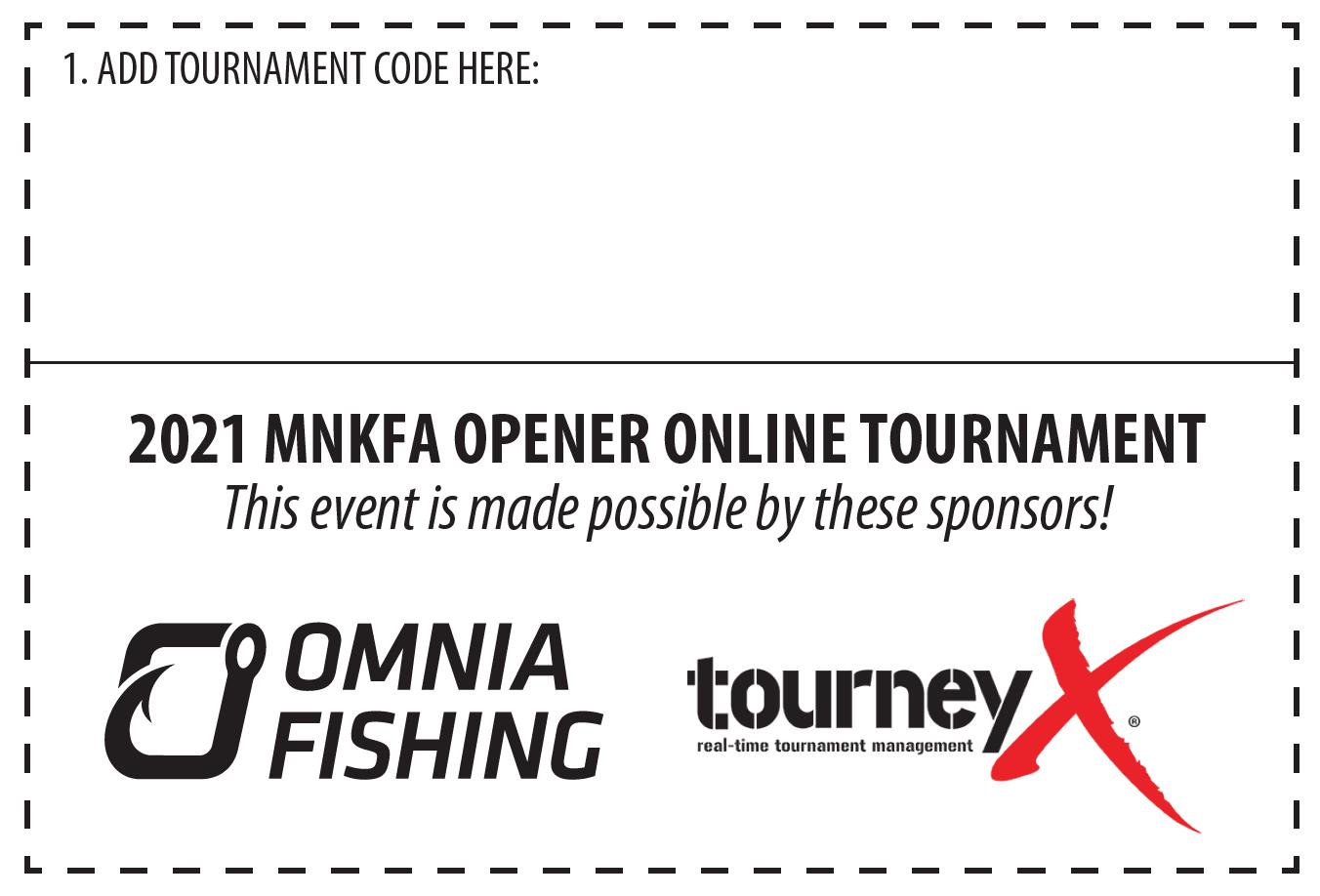 2021 Opener Kayak Fishing Tournament