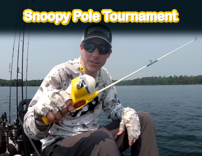 Snoopy Pole Kayak Fishing Tournament
