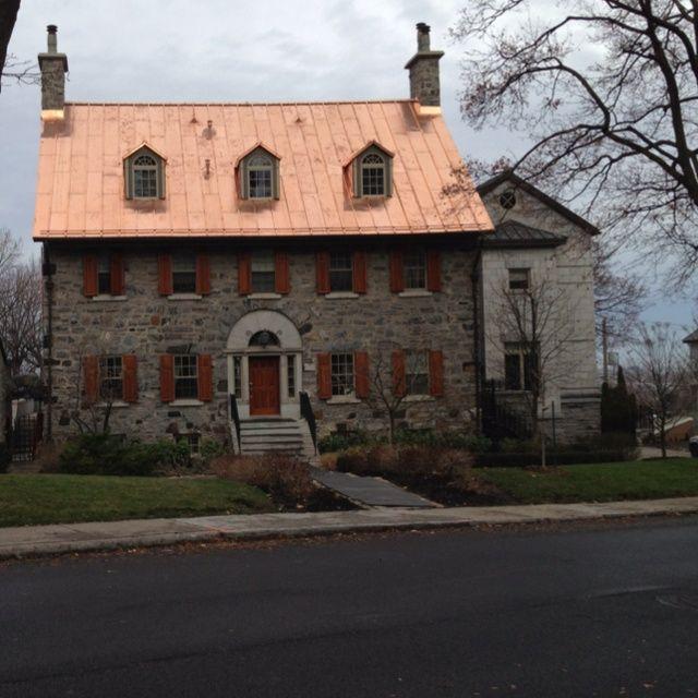 Copper Roof Panels