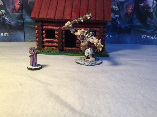 Reaper Hill Giant and Cultist Painted
