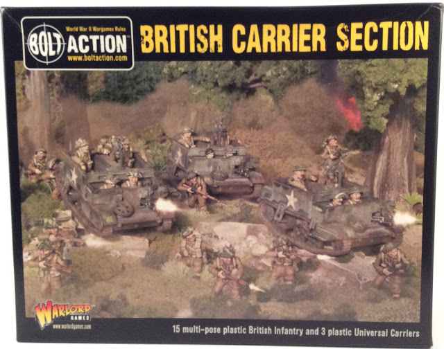 Read more about the article Showcase and Review: British Carrier Section by Warlord Games