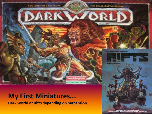 Read more about the article My First Miniatures… Ever!!!   Plus some rambling.