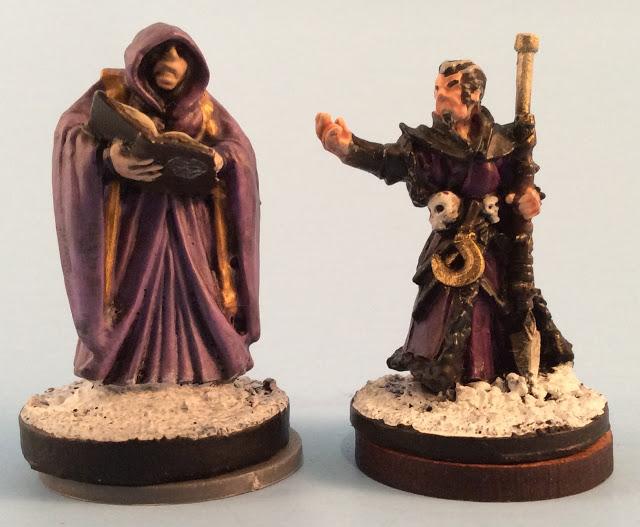 Scale Comparison Reaper Miniature vs Frostgrave 28mm Miniature