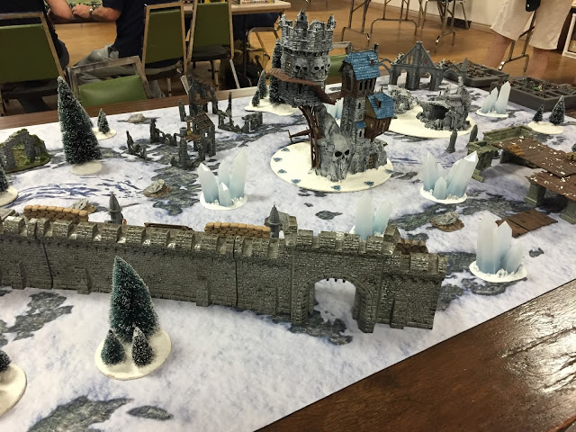 Read more about the article Battle Report: Frostgrave at Over The Top 2016