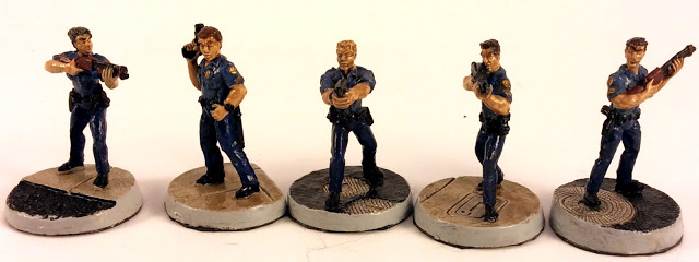 Read more about the article Armorcast Tactical Miniatures Rookie Cops Review and Showcase