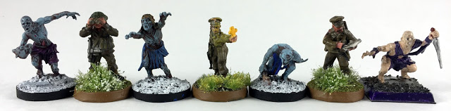Warlord Games Miniatures vs Mantic Games Miniatures - Scale Comparison