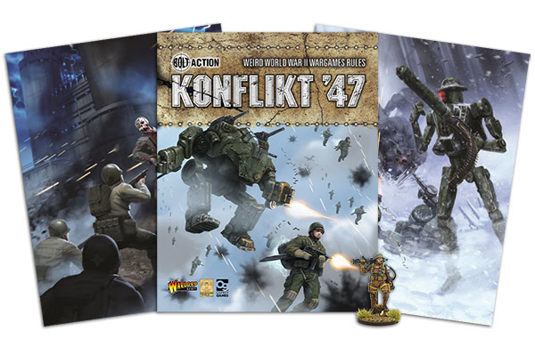 Read more about the article Growing Excitement – Bolt Action 2 and Konflikt '47