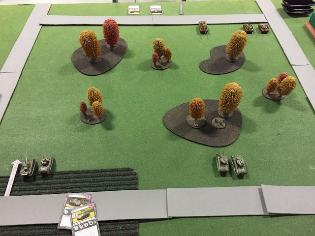 Battle Report for TANKS