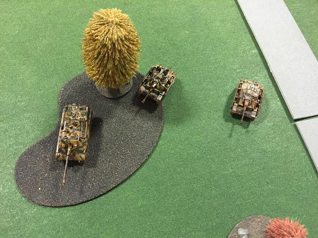 TANKS battle field setup
