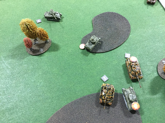 The German Tanks Run