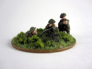Read more about the article Showcase: British MMG Team for Bolt Action