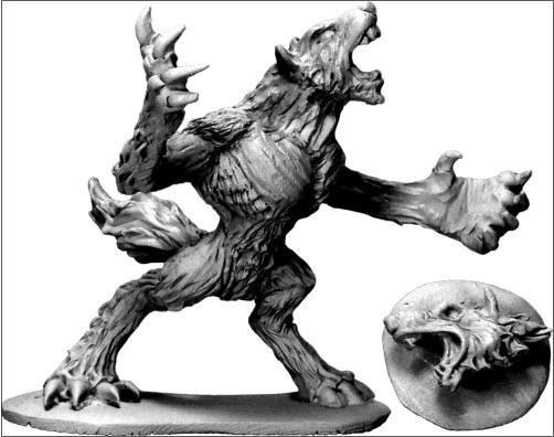 Frostgrave Werewolf