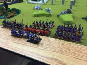 Read more about the article Dragon Rampant: Battle Report and First Impressions