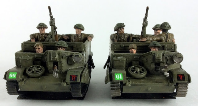 Universal carriers for Bolt Action