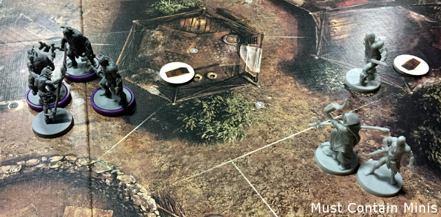 A board game battle report