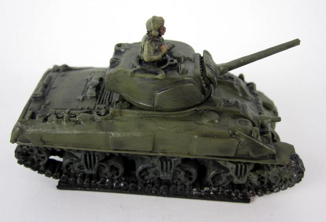 Flames of War Showcase - British Sherman