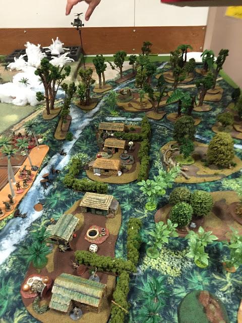 Terrain for Vietnam Wargame