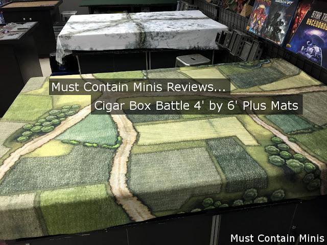 Terrain Review of Cigar Box Battle Mats 6' by 4' Plus mats