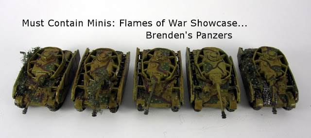 Read more about the article Flames of War Showcase: Brenden's Panzer IVs