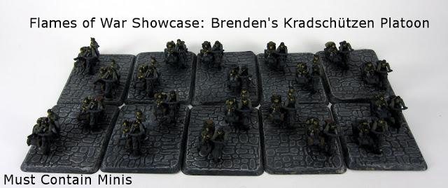 Read more about the article Flames of War Showcase: Brenden's Kradschützen Platoon