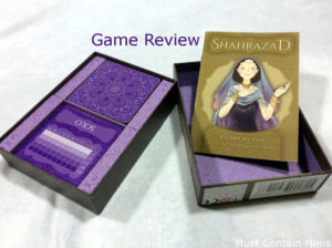 Read more about the article Review: Shahrazad by Osprey Games