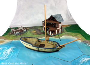 Read more about the article WIP & Showcase of a Sloop by Firelock Games (Blood & Plunder)