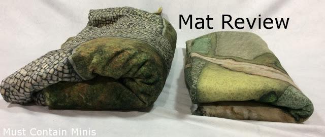 Review of Cigar Box Battle Mats Kickstarter Double-Sided Plush Mats