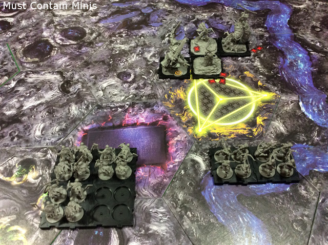 Rune Golem charges into Ardus hard